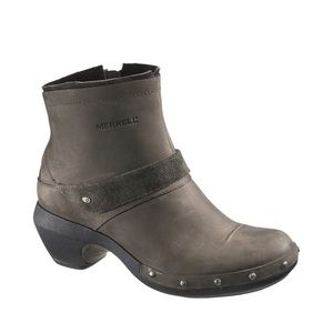 Merrell leather drizzle boot